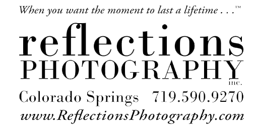 Reflections Photography's Logo
